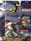 Alex Rodriguez STARTING LINEUP 2 EXTENDED SERIES 2001  TEXAS RANGERS