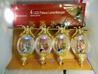 Nativity Holy Family Christmas Light Ornaments LED Palace Lamp Manager 2010 Box