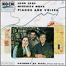 JOHN CAGE - Pianos And Voices - CD - **BRAND NEW/STILL SEALED** - RARE