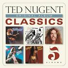 TED NUGENT - Original Album Classics [5 Cds] (us Artwork) - 5 CD - Box Set - NEW
