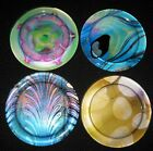 Louis Comfort Tiffany Metropolitan Museum Of Art Glass Coaster  Note Cube Set
