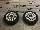Fiat 500 Lounge 15 Alloy Wheels Tyres