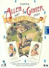 2007 Topps Allen and Ginter Mini - You Pick - Complete Your Set