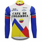 Brand New Team Brooklyn winter Cafe De Colombia cycling Jersey