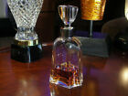 Vintage Signed Daum Glass Decanter Created for Delamain Cognac circa 1980