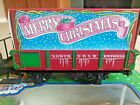 LGB Train North Pole Express 94505 G Scale Christmas Gondola Car w Present Gift