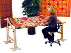 Quilting Frame Quilt Embroidery Stand Adjustable Wooden Crafts Full Size