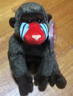 Ty Beanie Baby Cheeks the Baboon Primates Monkey With tags