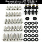 Cowling Fairing Bolts Body Screws Kit For Kawasaki Versys 1000 2012 2013 2014