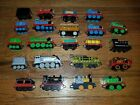 Thomas and Friends Train lot Of 22 Train Cars Megnetic Die Cast Take N Play