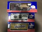 USA Trains Lot-3- Rusty Scupper Beer G Scale Reefer/Silver Edge/Working Caboose