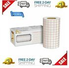 Vinyl Transfer Paper Tape Roll 6x50 Feet w Red Alignment Grid for Cricut CameoVi