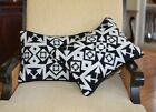Pillow Covers Cases Native Black and White Wool home decor accent handcrafted