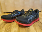 Asics Mens MetaRide size 10 Black Red