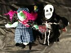 Ty Holiday Beanie Babies (Lot 2) Halloween Plush Toy Scary & Creepers (L37)