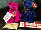 Ty Beanie Babies (Lot 2) Millennium 5/7 (loose tag), Topspin 15/13 w/stubs (J98)
