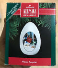 Hallmark Keepsake Ornament - Winter Surprise Egg 1991 Edition - NEW