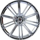4 GWG Wheels 20 inch Chrome FLOW Rims fits NISSAN ALTIMA COUPE 2008 2009