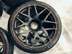 Porsche 911 997 Turbo HRE P40 20 Forged Monoblock wheels w Michelin Cup 2 Tires