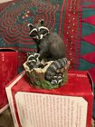 Hallmark Ornament 1999 Curious Raccoons * Majestic Wilderness **
