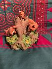 Hallmark Keepsake Ornament · Foxes in the Forest Majestic Wilderness · 2000
