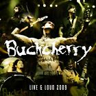 BUCKCHERRY - Live And Loud 2009 (explicit) - CD - Explicit Lyrics - **Mint**