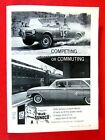 1960 Chevrolet Wagon Competing Or Commuting  Sunoco Original Print Ad 8.5 x 11