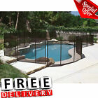 Swimming Pool Safety Fence 4x12 In Ground Gate Black Child Baby Pet Protect