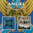 Angel - On Earth As It Is In Heaven/White Hot (CD Used Very Good)