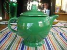 Vintage Fiesta MEDIUM GREEN Teapot Tea Pot w/ LID ~ RARE ~