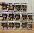 Disney Funko Pop Snow White And The Seven Dwarves Set Of 14 Exclusives
