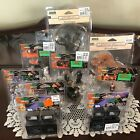 LOT OF 9 NEW LEMAX HALLOWEEN VILLAGE PIECE ACCESSORIES LIGHTS TREES VILLAGERS