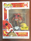 FUNKO POP DISNEY MULAN SERIES DIAMOND MUSHU HOT TOPIC EXCLUSIVE