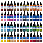 Intenze Tattoo Ink 1oz Red Blue Black White Green Purple Brown Orange Pink Teal