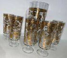 6 Cordial Glasses Hollywood Regency