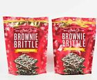 2 Sheila G's Brownie Brittle CHOCOLATE CHIP/WHITE CHOCOLATE 4 oz bag 10/26/2020