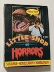 Little Shop of Horrors Topps Trading Cards 1986 Box of 36 Wax Packs Unopened