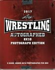 Cheap Wrestling 2017 Leaf Signed 8X10 Photo Edition Box With 5 Autographed
