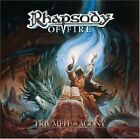 RHAPSODY OF FIRE - Triumph Or Agony - CD - Limited Edition - **Mint Condition**