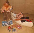 Vintage 70s Marx Gabriel The Lone Ranger SOLITARY TRAPPER 100 Complete  Boxed