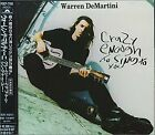 WARREN DEMARTINI - Crazy Enough To Sing To You - CD - Import - **Excellent**