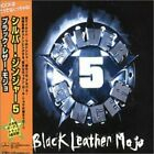 SILVER GINGER 5 - Black Leather Mojo - CD - Extra Tracks Import - **Excellent**