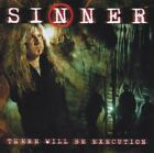 SINNER - There Will Be Execution - CD - Limited Edition - **Mint Condition**