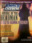 WWE Smackdown Magazine December 2005 The Undertaker With Poster Randy Orton