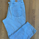 VINTAGE Womens Plus Sz 16 18 Lee 90s MOM Jeans High Rise Waist Distressed Light