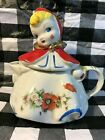 VTG LITTLE RED RIDING HOOD CHOCOLATE OR TEA POT