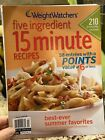 VINTAGE Weight Watchers Five Ingredient Recipes Special Edition Magazine 2009