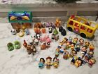 Fisher Price Little People Lot Disney Dc Comics Nativity Scene Animals Princess