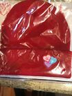 Jeffree Star Cosmetics Exclusive Valentine Beanie Limited Edition Hat New Red
