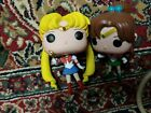 Funko pop sailor moon with moon stick exclusive and sailor jupiter